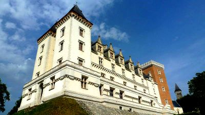Le chateau de Pau en Béarn